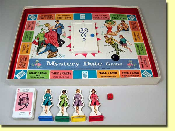 Mystery Date Board Game Games of Mystery Date When
