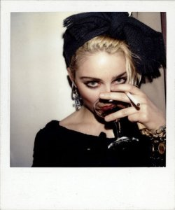 hollywoodmadonna-and-drinking-wine-gallery